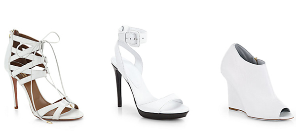 Shoes motivate me to save money. I'd never buy any as expensive as these - but they are gorgeous!